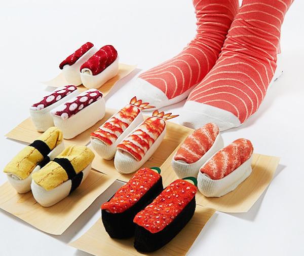 [产品设计]趣味恶搞寿司袜图片