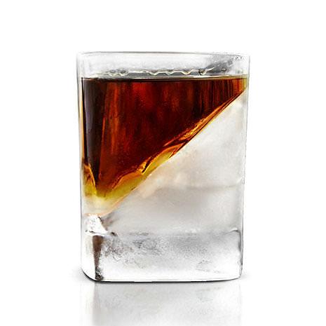 產品設計 [器皿設計]減緩冰塊融化斜款酒杯