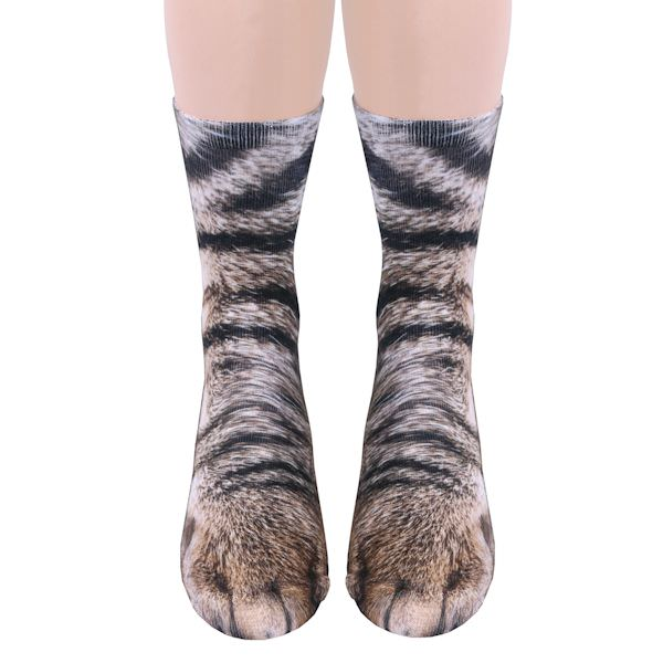 [服饰设计] crew socks喵星人猫爪袜
