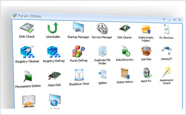 《軟體》PPuran Utilities系統優化@檢測、硬碟資料夾清理、歷史紀錄刪除
