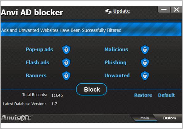 《軟體》Anvi AD Blocker網站廣告防火牆@破解惡意廣告‧彈跳式廣告OUT~