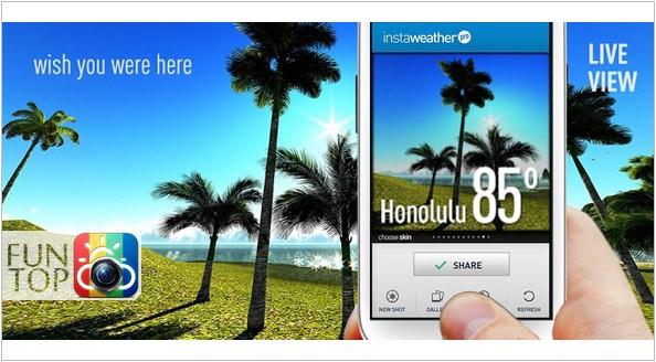 《APP》InstaWeather@照片輔助顯示‧景點、天氣、日期資訊