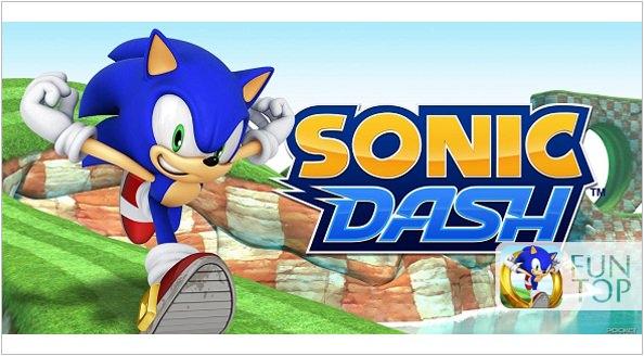 《APP》Sonic Dash音速小子跑酷遊戲@SEGA經典遊戲搬上APP平台
